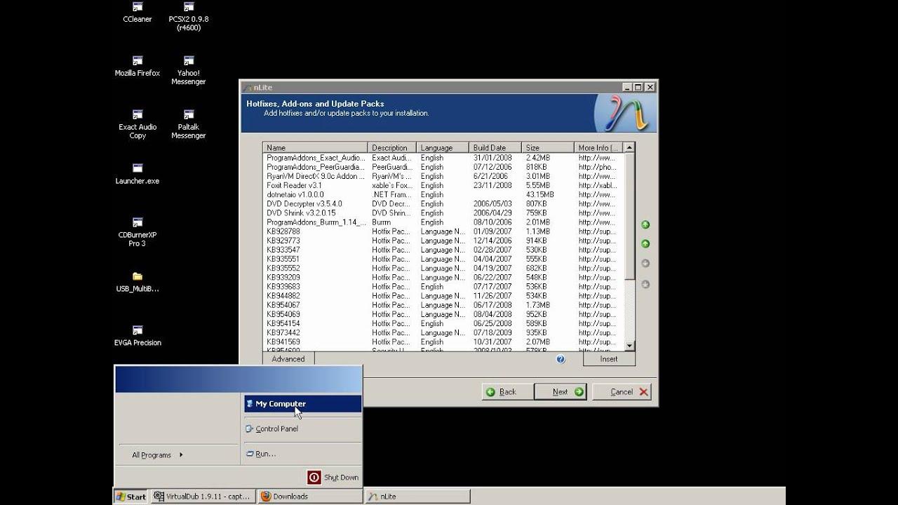 nlite download xp