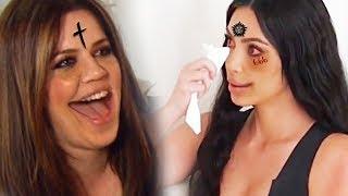 Kim Kardashian Calls Brother Rob A Looser And He...