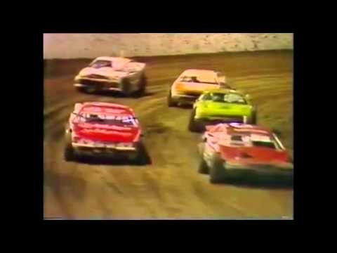 Flashback Newcastle Speedway Super Sedans Grenville Anderson