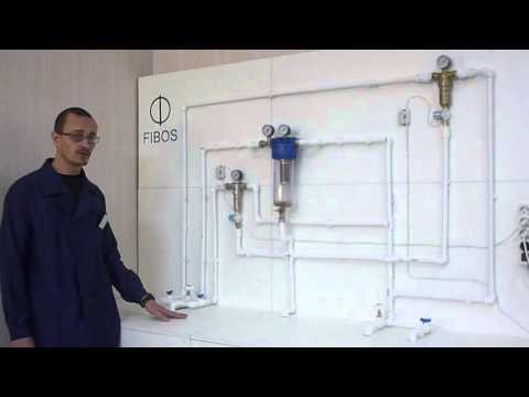 Фибос: промывка фильтра для воды!