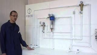 Фибос: промывка фильтра для воды!(Как происходит промывка фильтра для воды FIBOS? Тестирование на стенде., 2016-03-01T13:34:08.000Z)
