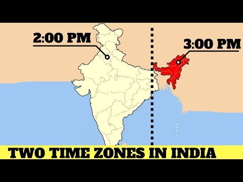 Two Time Zones In India.