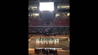 Auburn University Alpha Omicron Pi Greek Sing 2016