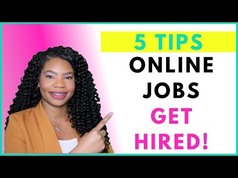 Work-From-Home. EASY Job Search Tips! | Online, Remote Work-At-Home Jobs November 2019