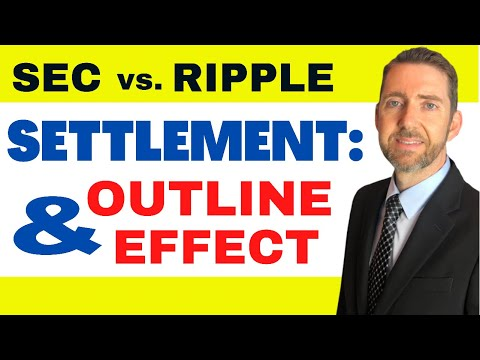 Attorney Hogan Discusses what an SEC v. Ripple SETTLEMENT Would Look Like and the Effect on XRP!