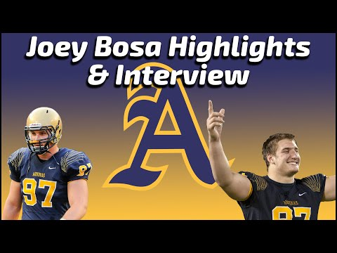 Joey Bosa - St. Thomas Aquinas Defensive Lineman Highlights / Interview - Sports Stars of Tomorrow