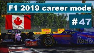 Canada Chaos F1 2019 Career mode part 47 Canada
