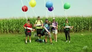 Dude Perfect Corn Mąze | Nerf Battle.Link in description