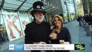 Steve Trash on Jane Velez-Mitchell - HLN - Show