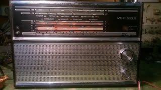 VEF 202  FM приемник,  планка FM (пробная модель)