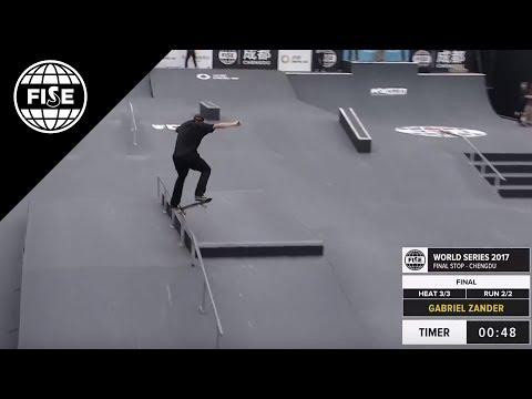 FISE CHENGDU 2017: Skateboard Street Pro Final [REPLAY]