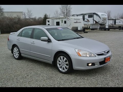 2006 honda accord ex l v6 sedan for sale dayton troy piqua sidney ohio 27121b youtube. Black Bedroom Furniture Sets. Home Design Ideas