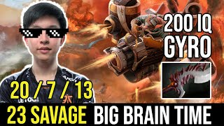23savage Big Brain Time Gyrocopter. Abyssal Blade Situational Build.