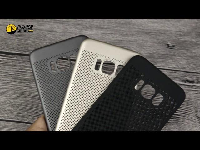 Ốp lưng Samsung Galaxy S8 nhựa cứng mỏng Loopee