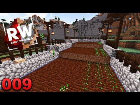 redstone-world---#009:-endlich-läuft-die-farm!