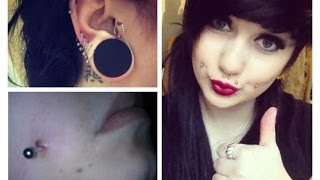 How To: Remove Piercing Keloids / Bumps (EASY) | Lilithas Bones