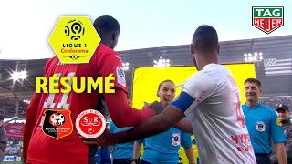 Stade Rennais FC - Stade de Reims ( 0-1 ) - Résumé - (SRFC - REIMS) / 2019-20
