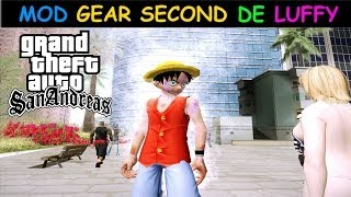 DOWNLOAD MOD GEAR SECOND DE LUFFY ONE PIECE PARA GTA SA BY OLIVEIRA FULL HD 1080p