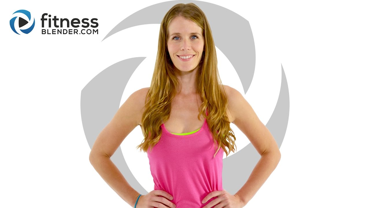 30 Min Bodyweight HIIT  Workout Created By Fitness Blender