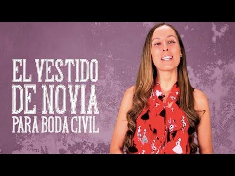 8a3c17ed7d El vestido de novia para boda civil - El Blog de María José - YouTube