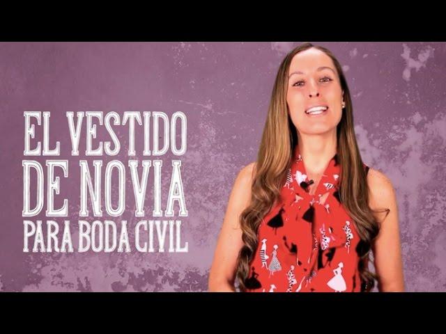 El Vestido De Novia Para Boda Civil El Blog De María José Youtube
