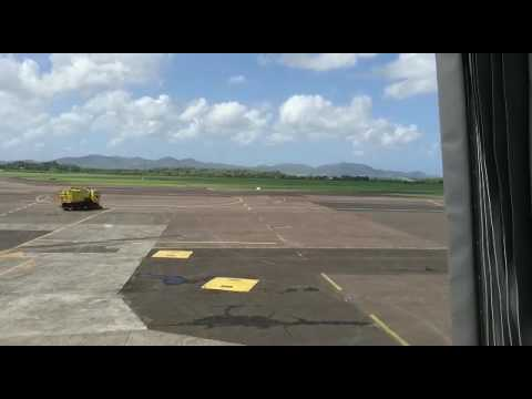 Air france a320 take-off Martinique 2016