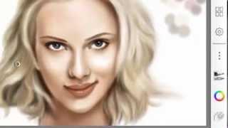 Digital Painting -Scarlett