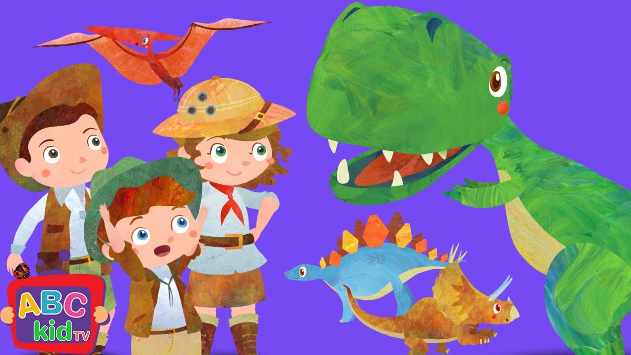 Dinosaurs Song (2D) | CoCoMelon Nursery Rhymes & Kids Songs