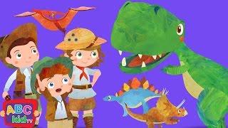 Dinosaurs Song (2D) | CoCoMelon Nursery Rhymes & Kids Songs