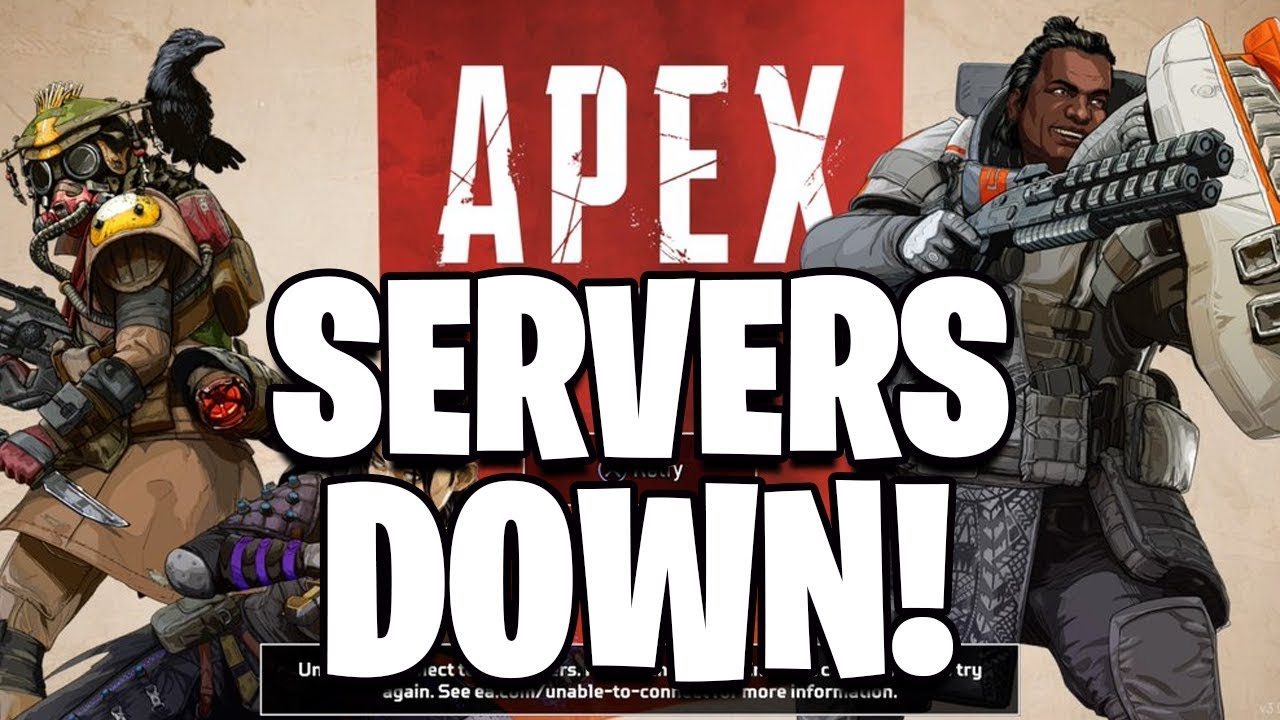 Apex Legends SERVERS DOWN ~ Can t Connect To Lobby In Apex Legends