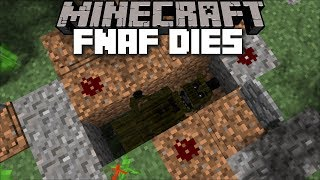 Minecraft FIVE NIGHTS AT FREDDY'S DIE / FNAF SCARE US IN OUR SLEEP !! Minecraft Mods