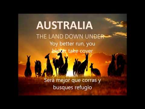 Men At Work - Down Under (Subtitulado / Lyrics)