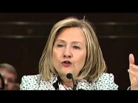 Reptilians Hillary Clinton & Ukraine President Viktor Yushchenko
