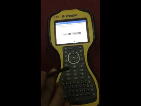 Easy Use Trimble GPS.nice Video For Survey Students