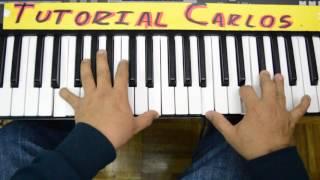 Puedo inmaginarme Ricardo rodriguez - Tutorial Piano Carlos