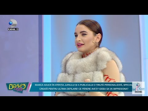 Bravo, ai stil! (15.12.2017) - Bianca le-a facut o super surpriza juratilor si fetelor!