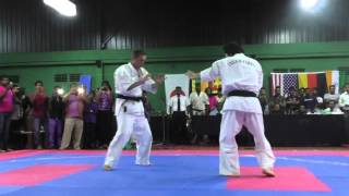 Grandmaster Kancho Joko Ninomiya giving a stunning demonstration wi...