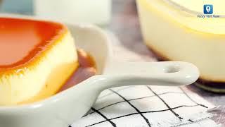 Tự tay làm bánh flan mịn dẻo thơm ngon