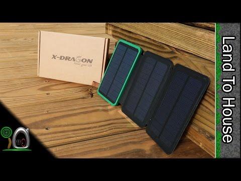 X Dragon Solar Power Battery Pack