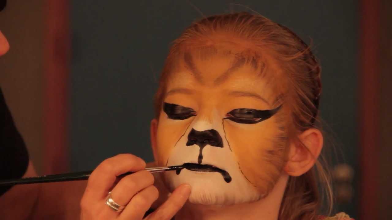 Uitgelezene Leeuw schminken.mp4 - YouTube YA-82