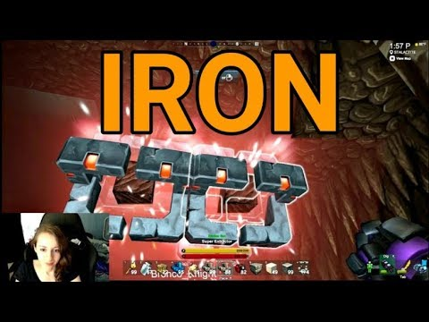 how to find iron creativerse