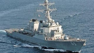 Japanese tug collides with US Navy destroyer near Japan thumbnail