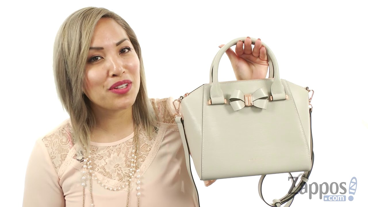 2653f93ea Ted Baker Core Bow Small Tote SKU  9026518 - YouTube