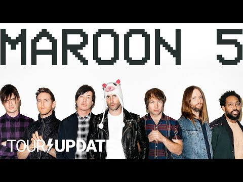Maroon 5, Red Pill Blues, And Touring In 2018   Tour Update