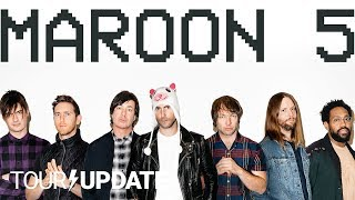 Maroon 5, Red Pill Blues, and Touring in 2018 | Tour Update