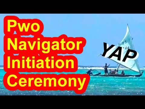 Pwo Navigator Initiation Ceremony, Yap, Micronesia