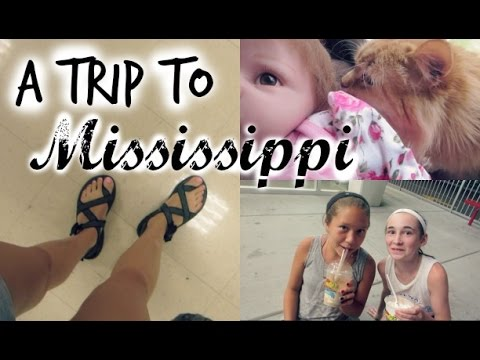 A TRIP TO MISSISSIPPI // Summer Vlogs 2016 July 11-19