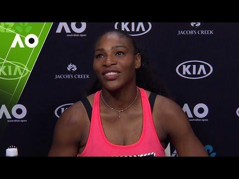 Serena Williams press conference (QF)   Australian Open 2017
