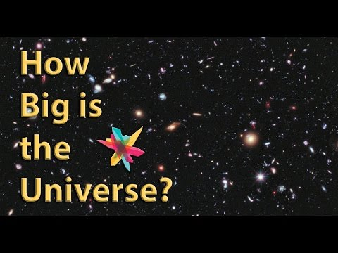 How Big is the Universe? | Tech Talks: Astronomy, Galaxies & the Hubble Deep Field