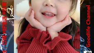 抖音 Goodlife Channel 娱乐分享 萁萁baby qiqi lucu 天生自配美瞳 不要怀疑噢 #009